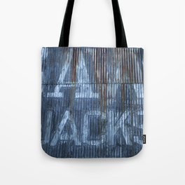 RUSTY CLADDING Tote Bag