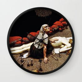 Akseli Gallen-Kallela - Lemminkainen's Mother - Digital Remastered Edition Wall Clock