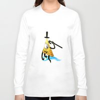 bill cipher Long Sleeve T-shirts featuring Bill Cipher by Draikinator