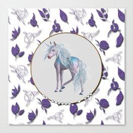 Unicorn Forrest Canvas Print