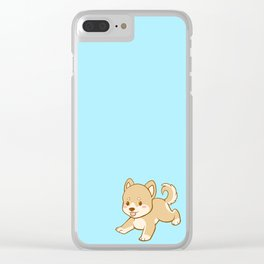 Happy Clear iPhone Case