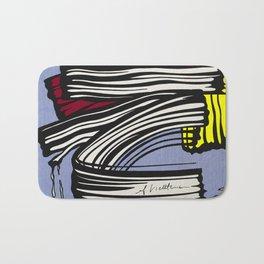 Brushstroke - 1965 - Roy Lichtenstein Bath Mat