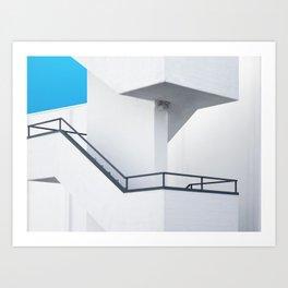 Skymetric Art Print