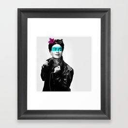 Rocker Frida Framed Art Print