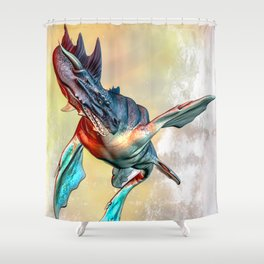 Nessie Shower Curtain