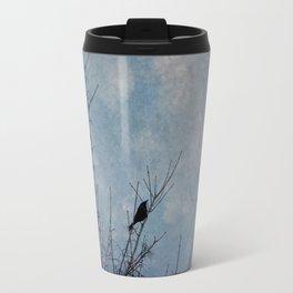 the grackle Travel Mug