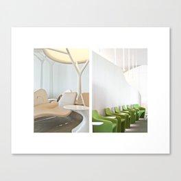 Paris Transit Lounge Canvas Print