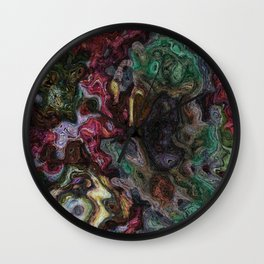 Tongue-lashing Wall Clock