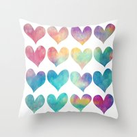 A Colorful Kind Of Love  Throw Pillow