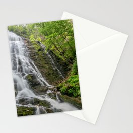 Images USA Mingo Falls Rock Nature Waterfalls Moss Crag Cliff Stationery Cards