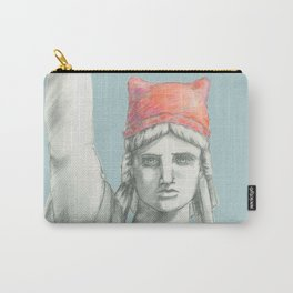 Liberty in PINK skyblue Carry-All Pouch
