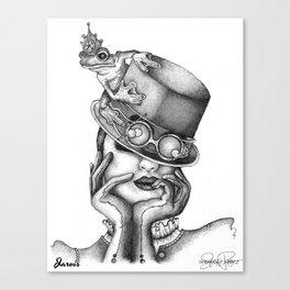 JARVIS Frog Prince Print Canvas Print