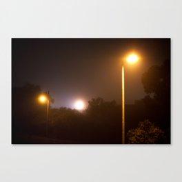 Suburbian Lights Canvas Print