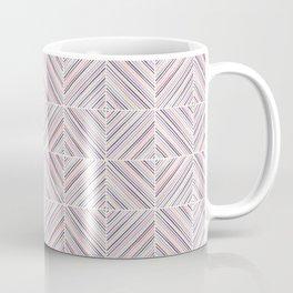 Herringbone Diamonds - Mauve Coffee Mug