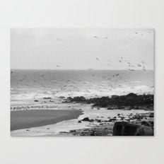 Beach, Calais, France. Canvas Print