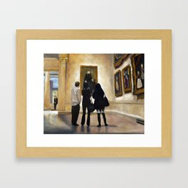 MFA Framed Art Print