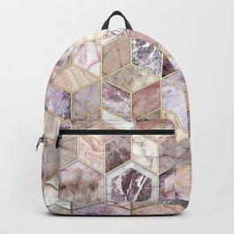 Blush Quartz Honeycomb Backpack