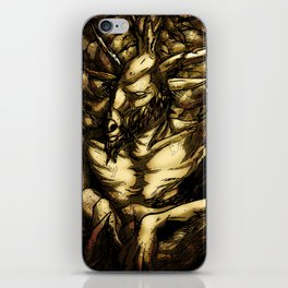 HORNED GOD iPhone Skin