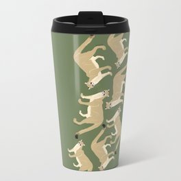 Carnivores of World: Cougar Pum(a) (c) 2017 Metal Travel Mug
