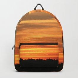 Peaceful sunset Backpack
