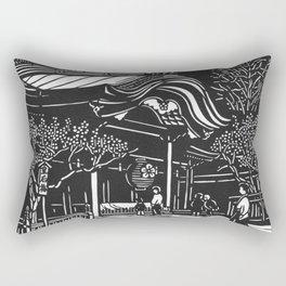 Dazaifu Tenmangu Rectangular Pillow