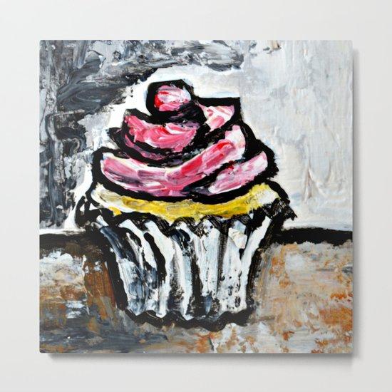 Sweet Treats Still Life: Cupcake Metal Print