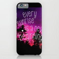 Sunrises are New Beginnings iPhone 6s Slim Case