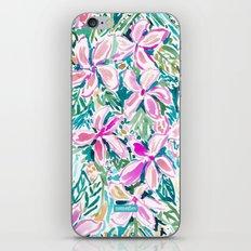 PLUMERIA PARADISE iPhone & iPod Skin