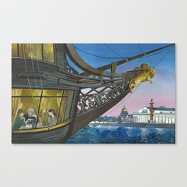 The Flying Dutchman Canvas Print