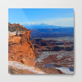 Island in the Sky, Canyonlands Metal Print