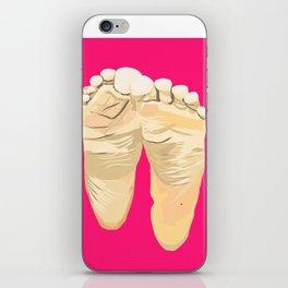 FEET I (Pink) iPhone Skin