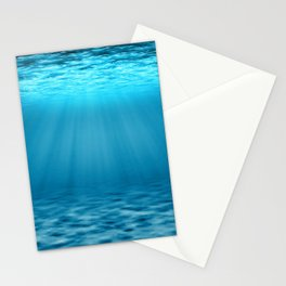 3D underwater Stationery Cards