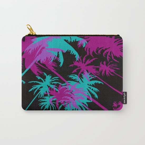 California Palm Trees at Night  Carry-All Pouch