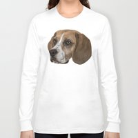 beagle Long Sleeve T-shirts featuring Beagle by Goncalo