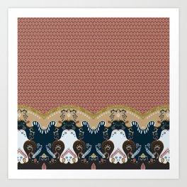 ss16 /// Handmade Arabesque III Art Print