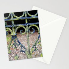 Heart and swirls Stationery Cards
