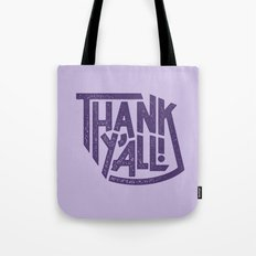 Thank Y'all! Tote Bag