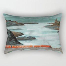 The Hogwarts Express Rectangular Pillow