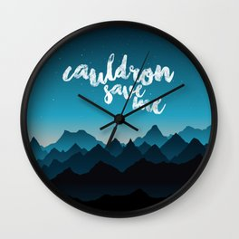A Court of Thorns and Roses/ Mist and Fury - Cauldron save me Wall Clock