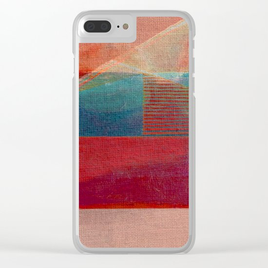 The River and the Dam Clear iPhone Case