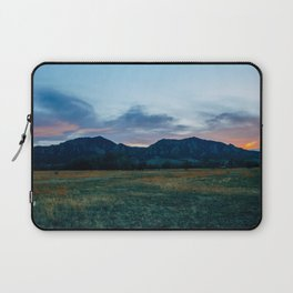 Boulder Sunset Laptop Sleeve