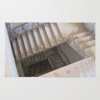 escher Area & Throw Rugs featuring Escher by KMZphoto
