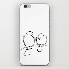 Bird Couple iPhone Skin