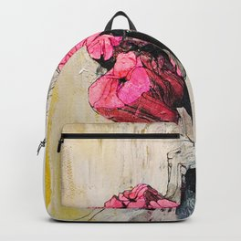 Pink wood stumps Backpack