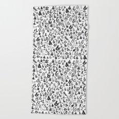 letter X - ampersands Beach Towel