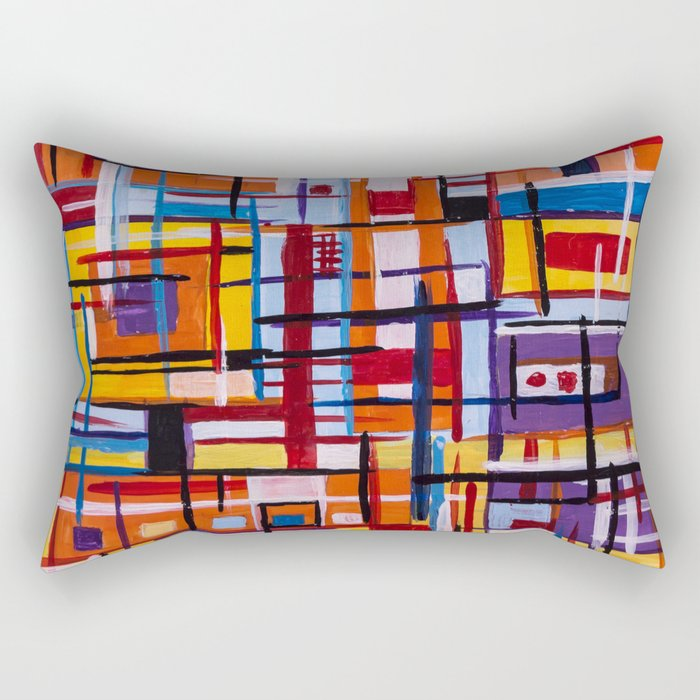 Concealed Mindfulness Rectangular Pillow