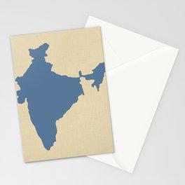 Kashmir Blue Spice Moods India Stationery Cards