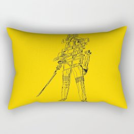 Kill bill killed Rectangular Pillow