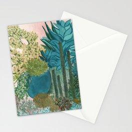 Silver Garden Stationery Cards