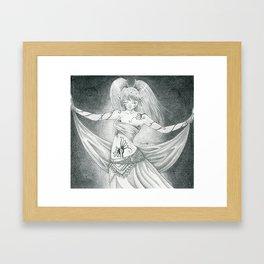 Ritual dancer Framed Art Print